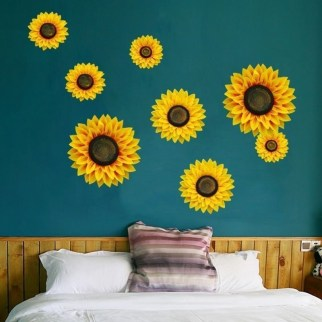 Latest Diy Sunflower Bedroom Decoration Ideas To Try Asap9