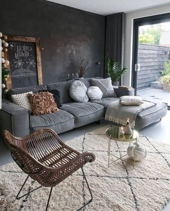 Lovely Living Room Sofa Design Ideas For Cozy Home To Try34