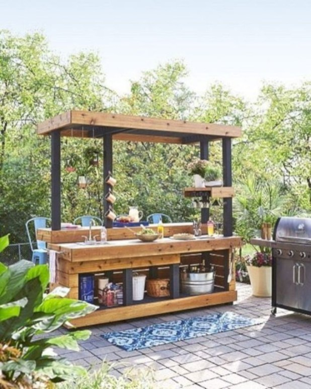 Newest Diy Outdoor Kitchen Designs Ideas On A Budget27