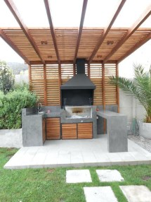 Newest Diy Outdoor Kitchen Designs Ideas On A Budget31