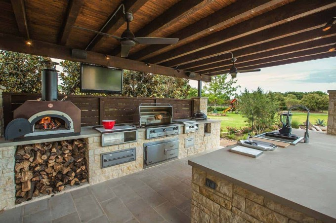 Newest Diy Outdoor Kitchen Designs Ideas On A Budget37