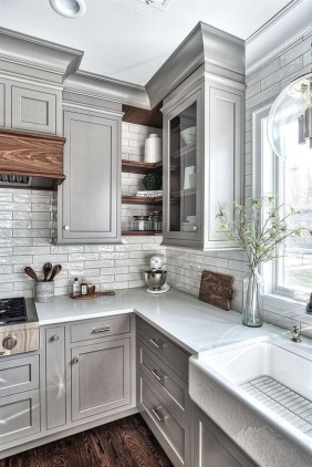 Popular Kitchen Cabinet Designs Ideas That You Need To Know17