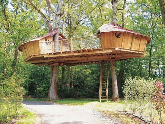 Rustic Diy Tree Houses Design Ideas For Your Kids And Family06