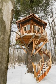Rustic Diy Tree Houses Design Ideas For Your Kids And Family27