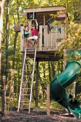 Rustic Diy Tree Houses Design Ideas For Your Kids And Family33
