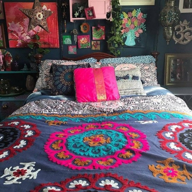 Stylish Bohemian Style Bedroom Decor Design Ideas To Try Asap39