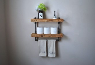 Unusual Diy Reclaimed Wood Shelf Design Ideas For Brilliant Projects17