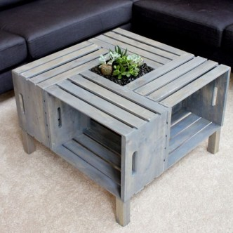 Amazing Diy Coffee Table Ideas For Your Inspiration To Try27