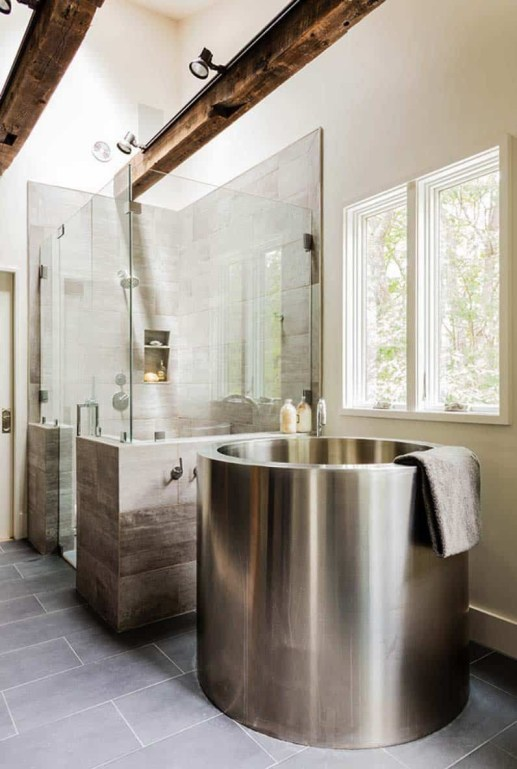 Astonishing Japanese Contemporary Bathroom Ideas That You Need To Try36