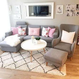 Comfy Small Living Room Decor Ideas For Your Apartment13