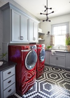 Cozy Laundry Room Tile Pattern Design Ideas To Try Asap01