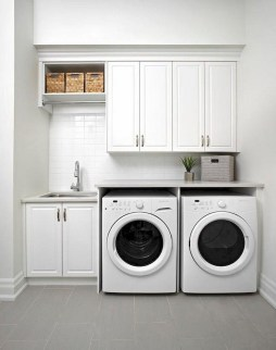 Cozy Laundry Room Tile Pattern Design Ideas To Try Asap05