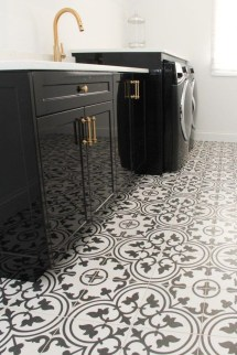 Cozy Laundry Room Tile Pattern Design Ideas To Try Asap08