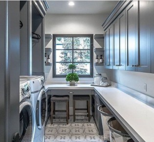 Cozy Laundry Room Tile Pattern Design Ideas To Try Asap19