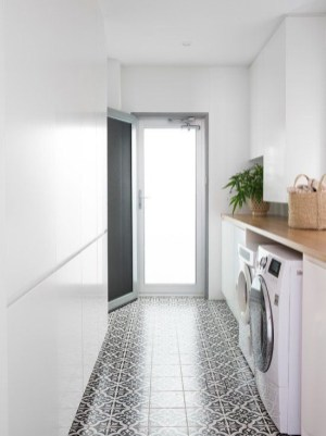 Cozy Laundry Room Tile Pattern Design Ideas To Try Asap31