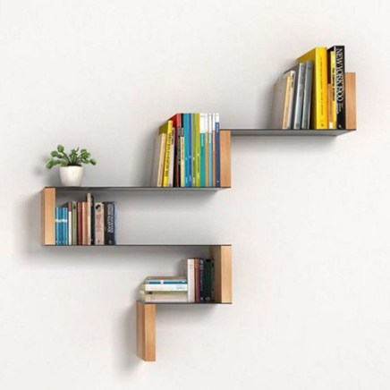 Extraordinary Bookshelf Design Ideas To Decorate Your Home More Beautiful08