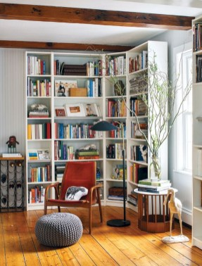 Extraordinary Bookshelf Design Ideas To Decorate Your Home More Beautiful25