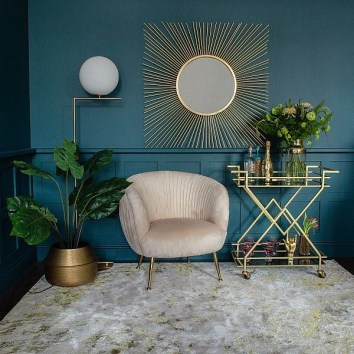 Gorgeous Gold Color Interior Design Ideas For Your Home Style To Copy19