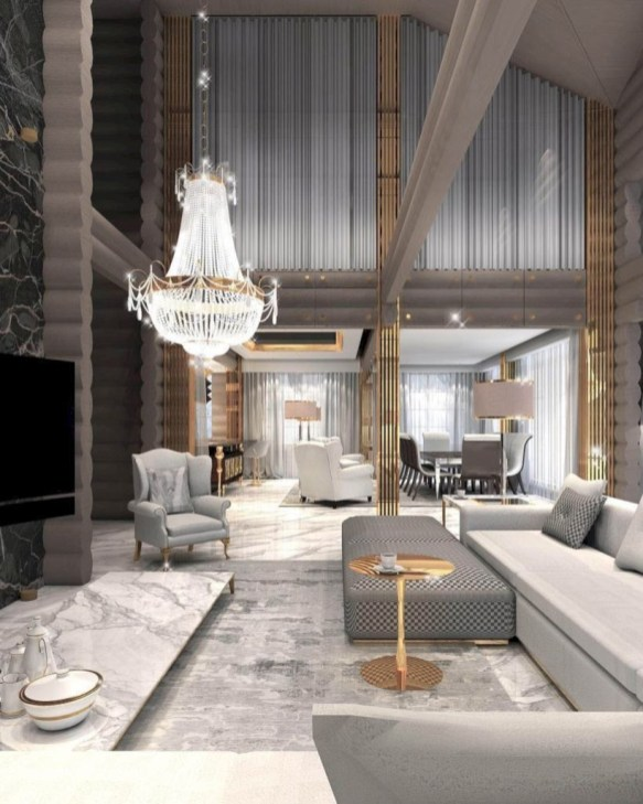 Gorgeous Gold Color Interior Design Ideas For Your Home Style To Copy32