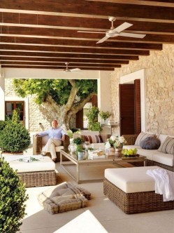 Inspiring Home Patio Ideas For Relaxing Places That Will Amaze You15