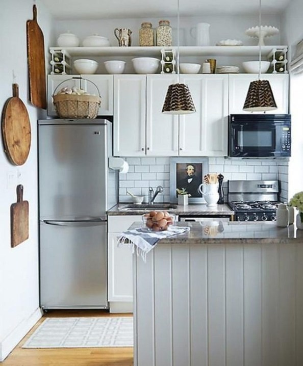 Magnificient Kitchen Design Ideas For A Small Space To Try38