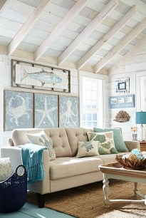 Pretty Coastal Living Room Decor Ideas That Looks Awesome02