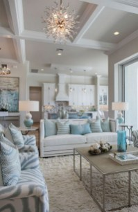 Pretty Coastal Living Room Decor Ideas That Looks Awesome03