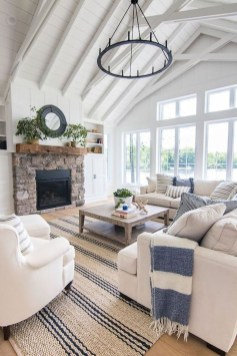 Pretty Coastal Living Room Decor Ideas That Looks Awesome08