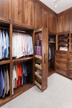 Pretty Wardrobe Design Ideas That Can Try In Your Home26