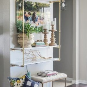 Stunning Diy Pipe Shelves Design Ideas That Looks Awesome10
