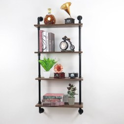 Stunning Diy Pipe Shelves Design Ideas That Looks Awesome12
