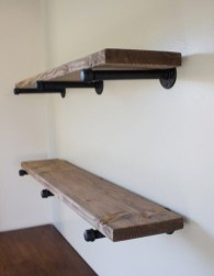 Stunning Diy Pipe Shelves Design Ideas That Looks Awesome15
