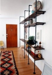 Stunning Diy Pipe Shelves Design Ideas That Looks Awesome16