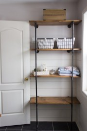 Stunning Diy Pipe Shelves Design Ideas That Looks Awesome23