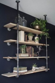 Stunning Diy Pipe Shelves Design Ideas That Looks Awesome25