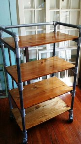 Stunning Diy Pipe Shelves Design Ideas That Looks Awesome34