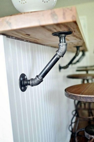 Stunning Diy Pipe Shelves Design Ideas That Looks Awesome38