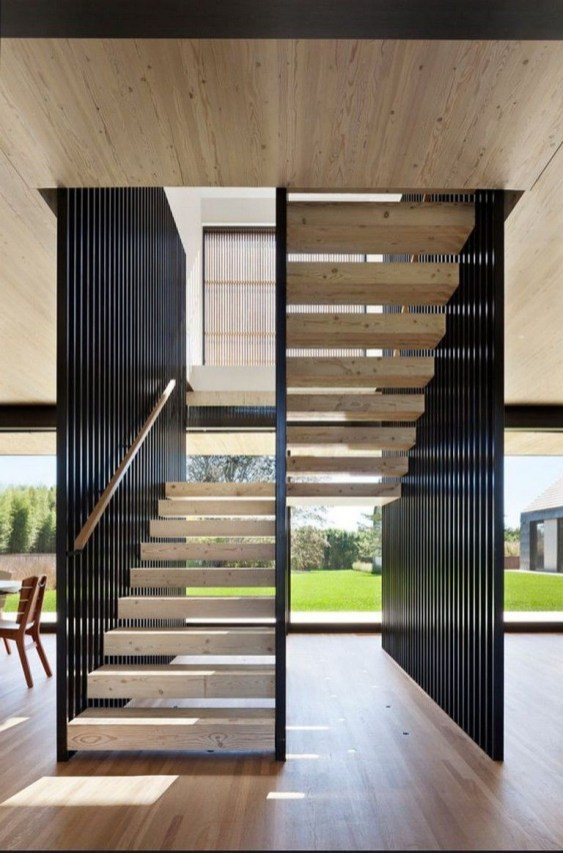 Stunning Staircase Design Ideas To Try This Month29