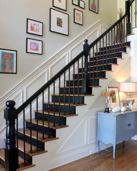 Stunning Staircase Design Ideas To Try This Month31