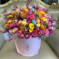 Stylish Easter Flower Arrangement Ideas That You Will Love10