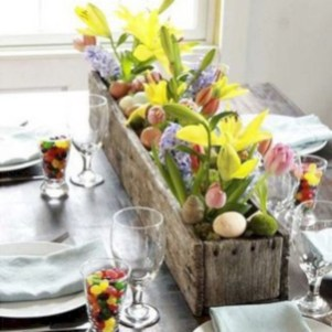 Stylish Easter Flower Arrangement Ideas That You Will Love31