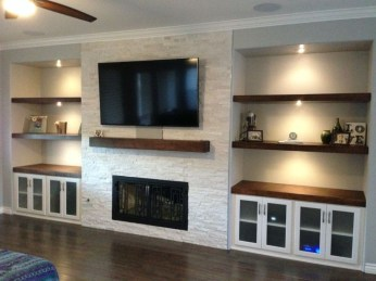 Unordinary Entertainment Centers Design Ideas You Must Try In Your Home11
