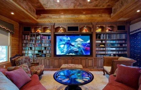 Unordinary Entertainment Centers Design Ideas You Must Try In Your Home15