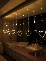 Wonderful String Lights Ideas For Valentine Days That Will Amaze You16