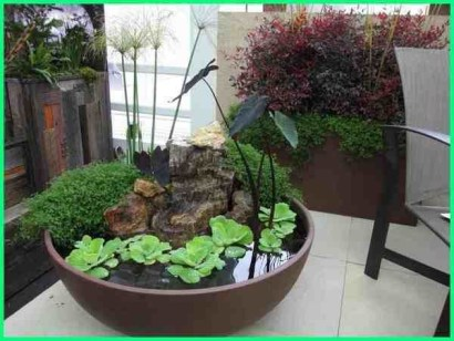 Awesome Indoor Water Garden Design Ideas That Refresh Your Interiors16