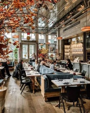 Brilliant Restaurant Design Ideas That Will Make Your Customers Cozy34