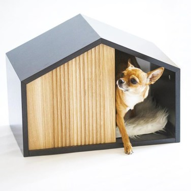 Captivating Plywood Dog House Design Ideas With Fishbone To Insoire You24