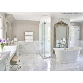 Casual Master Bathrooms Design Ideas That Connected To Nature20