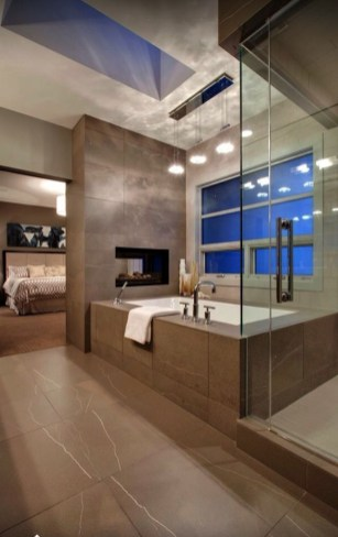 Casual Master Bathrooms Design Ideas That Connected To Nature28