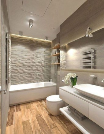 Casual Master Bathrooms Design Ideas That Connected To Nature35